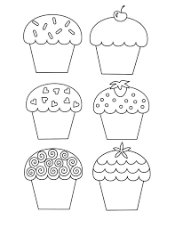 cupcake coloring pages pinterest awesome with additional online