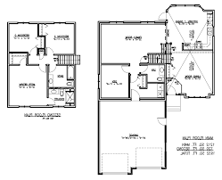 home design split level house plans 3266 regarding 85