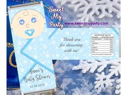 candy bar baby shower winter baby shower candy bar wrappers winter