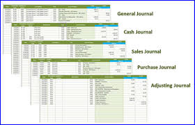 Depreciation Spreadsheet Accounting System For Trading Retail Company Excelindo