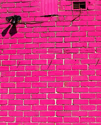 free pink brick wall stock photo freeimages com