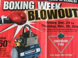 canadian tire boxing day week flyer deals 2010 flyer