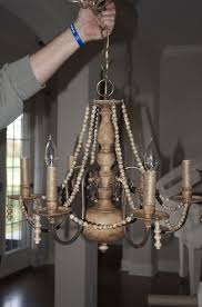 Cheap Chandeliers For Dining Room Diy Brass Chandelier Makeover On The Cheap Brass Chandelier