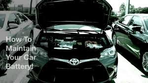 toyota yaris car battery how to maintain your car battery