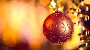 New Year Decoration Shop by Christmas And New Year Decoration Abstract Blurred Bokeh Holiday