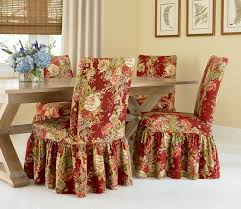 Dinning Chair Covers Sure Fit Slipcovers Super Easy Way To Pretty Up Those Dining