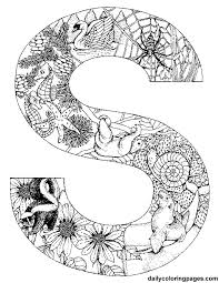 http dailycoloringpages com images s animal alphabet letters to