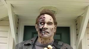 Terminator Halloween Costume Terminator 2 Judgment Mask Costume Sized