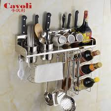 Stainless Steel Wall Spice Rack Wall Shelves Design Stainless Steel Shelves For Kitchen Wall