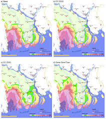 Map Of The South Salinity In The South West Region Of Bangladesh And The Impact Of