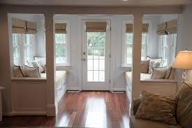 entry vestibule vestibule with window seats beach style entry philadelphia