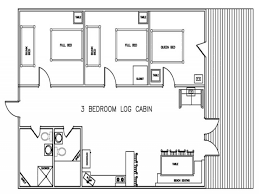 Log Cabins Floor Plans Bedroom Log Cabin Floor Plans Bellows Afb 1 Bedroom Cabins 3