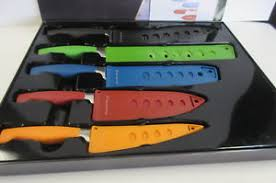 wolfgang puck kitchen knives wolfgang puck 10 knife set non stick cutlery colored bistro