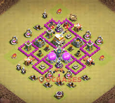 coc map layout th6 only 24 best th6 base in the world 2018 new war farming trophy