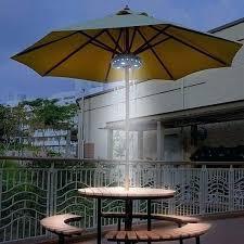 solar led umbrella lights luxury led patio umbrella and introduction led patio umbrella jar