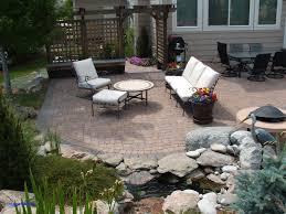 Concrete Paver Patio Designs Backyard Paving Ideas Concrete Paver Patio Designs New