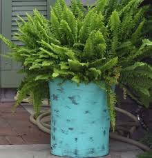diy large planters from trash cans hometalk