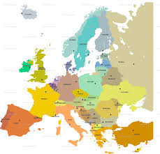 World Map Fabric by Europe Map Wallpaper Ravynka Spoonflower