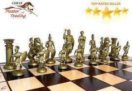 sparta u0027 u0027 decorative chess set 50x50 stunning chessboard and