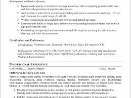 example of rn resume sample resume registered nurse example rn