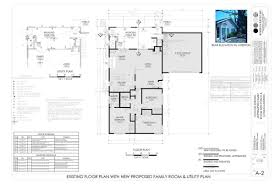 Two Family Floor Plans by Attractive Design Ideas Architectural Plans For Room Additions 3