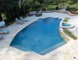 dc metro travertine pool deck traditional with coping craftsman