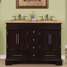 Double Sink Bathroom Vanity EBay - Bathroom sink cabinet ebay