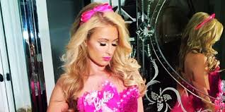 Barbie Makeup For Halloween by Paris Hilton U0027s Eight Halloween Costumes Are A Variation Of