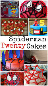 spiderman cake ideas in the playroom