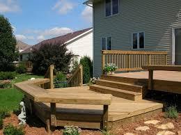 Split Level Front Porch Designs Bi Level Porch Designs Bi Level Deck Hubby Projects