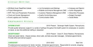 Direct Support Staff Resume 100 Event Staff Resume Resume Example For Project Management