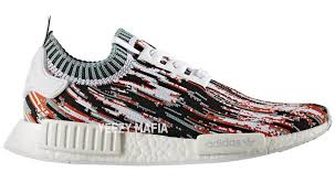 adidas x gucci the adidas nmd r1 primeknit gucci glitch has just been unveiled