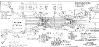Chicago Union Station Map by Railroad Interlocking Diagrams