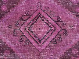 Pink Oriental Rug 4 U0027 X 11 U0027 Wide Runner Worn Down Overdyed Pink Persian Hamadan
