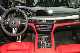 Bmw Interior Options 2015 Bmw X5 M X6 M Debut With Improved Performance Motor Trend Wot