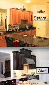 staining kitchen cabinets with gel stain honey oak cabinets re stained with java gel stain stained