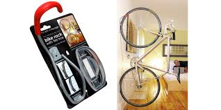 the da vinci rack hook saves space and stores your bike in style