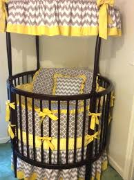 blue grey yellow and gray baby nursery bedding custom crib bedding