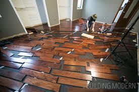 installing hardwood floors in our master bedroom part 2