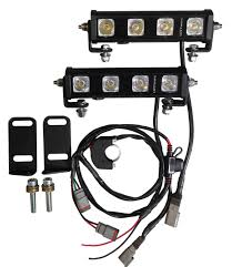 lottworx honda crf crfx double row led lighting kit