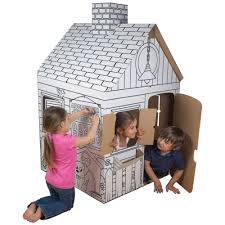find the color your own playhouse at michaels mom and her girls