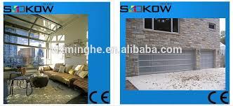 Garage Overhead Doors Prices Residential Aluminum Overhead Door Polycarbonate Garage Door