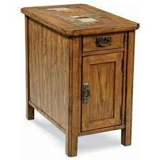 Oak End Tables Peters Revington American Craftsman Oak End Table With Slate Tile