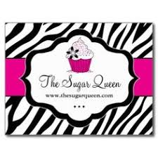 cupcake dessert baking bakery business package business card