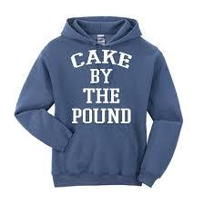 allntrends unisex hoddie cake by the pound sweatshirt at amazon