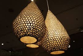 Design For Wicker Lamp Shades Ideas Tucker Robbins Transforms Indonesian Fishing Baskets Into