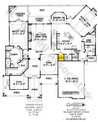 home plans with elevators shady grove cottage house plan house plans by garrell associates