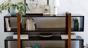 48 low bookcase bookshelf antique english blue painted long