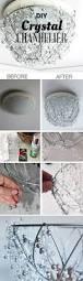 diy crystal chandelier chandeliers tutorials and crystals
