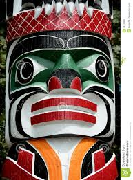 7 best images of printable totem pole faces totem poles